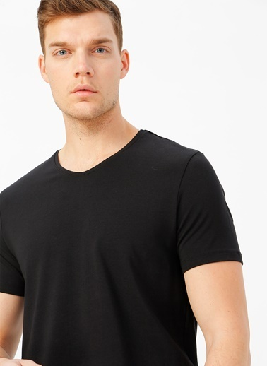 Fabrika Fabrika Siyah Erkek T-Shirt Siyah
